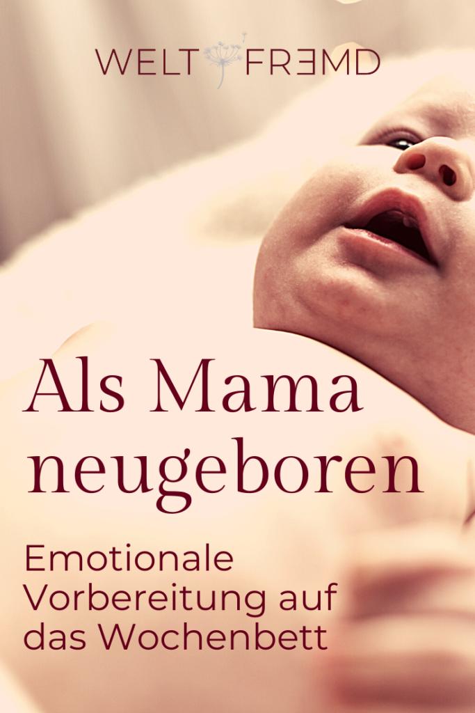 Mama werden - wie fühlt sich das an?