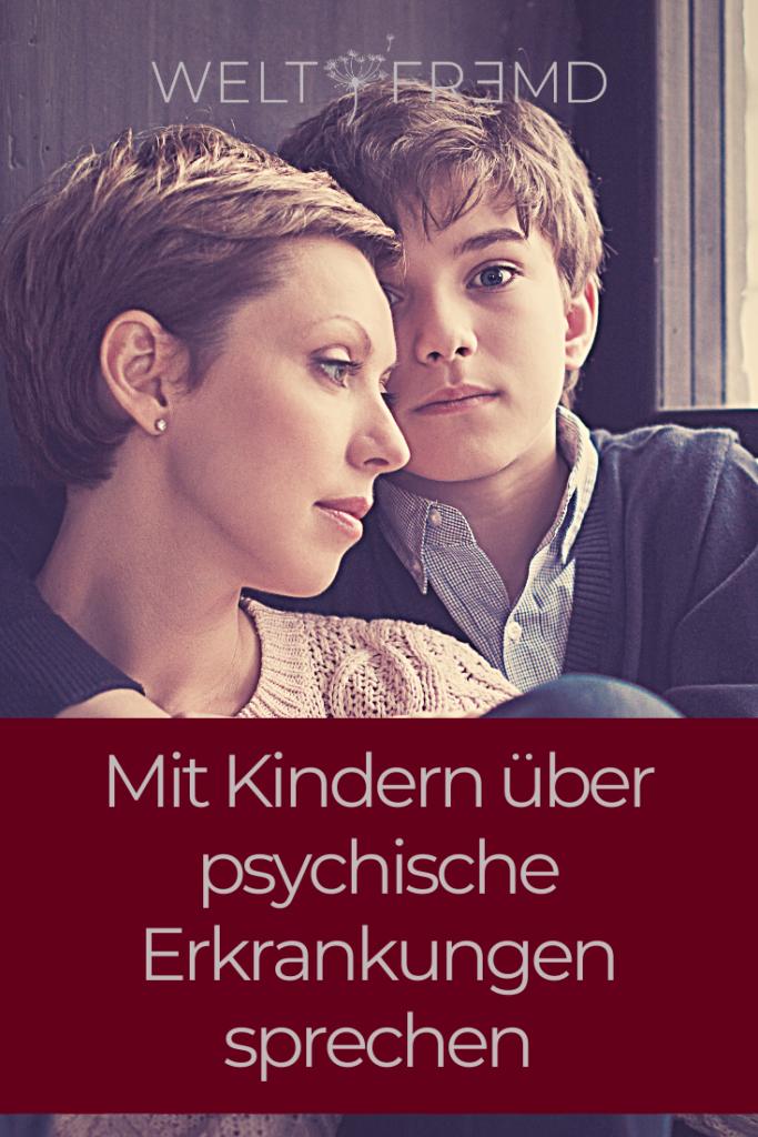 Mit Kindern über psychische Erkrankung sprechen